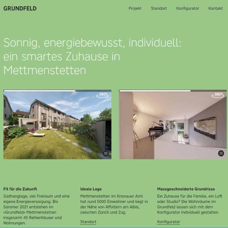 Ein Haus im Grünen – aber sparsam!