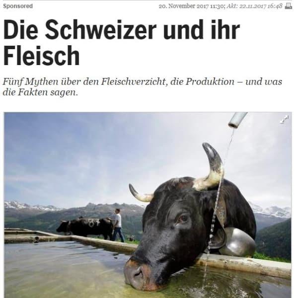 Mythen über Schweizer Fleisch